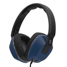 Écouteurs bleus Skullcandy microphone