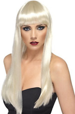 Beauty Wig, Blonde, Long, Straight with Fringe (US IMPORT) COST-ACC NEW