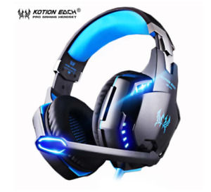 KOTION EACH PS4 Wired Gaming Headset Deep Bass Stereo Casque