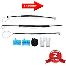RENAULT LAGUNA 2 WINDOW REGULATOR REPAIR KIT FRONT RIGHT DRIVER SIDE