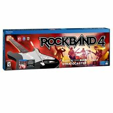 Rock Band 4 Wireless Fender Stratocaster Guitar Bundle PlayStation 4 PS4 VG