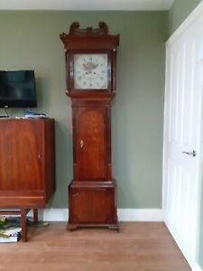 Longcase grandfather Clock 8day REDUCED