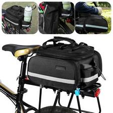 Cycling Bicycle Bike Rear Rack Seat Saddle Bag Pannier Trunk Shoulder Handbag