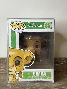 Simba Flocked Disney Pop Vinyl 85