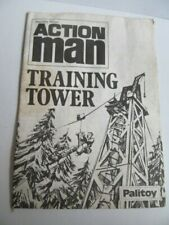Action Man Palitoy Instructions Sheet For Training Tower