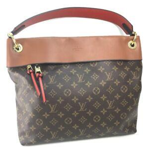 LOUIS VUITTON M43155 Monogram Tuileries Hobo Shoulder Bag Tote Bag