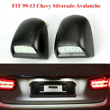 BRIGHT SMD LED License Plate Lights Lamp For Chevy Silverado Avalanche 99-13 NEW