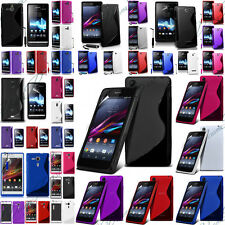 Accessoires Etui Housses Coque Silicone Gel TPU S-line Pour Seri Sony Xperia