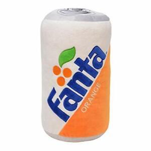 "Fanta Can Classic Orange 13"" Polyester Fabric Soft Plush Throw Pillow"