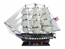 """USS Constitution Limited 32"""" Wooden Model Ship - Tall Ship Model - Old Ironsides"""