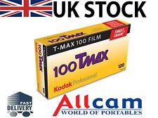 5 Pack: Kodak T-Max 100 120 size roll B&W Film (5)