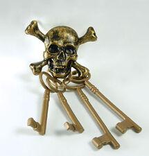 plastique Pirate clefs squelette crâne & os croisés ACCESSOIRE COSTUME