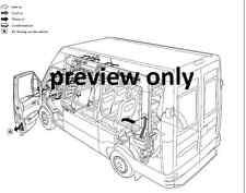 Iveco Daily 3rd GEN 2000-2006 servicio de taller y Manual de reparación CD