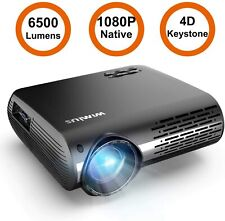 1080P Native Support 4K Video Zoom Led Home Cinema Theater Projector 4D Keystone