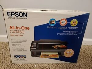 Epson Stylus CX7450 All-In-One Inkjet Printer Brand New Sealed Box