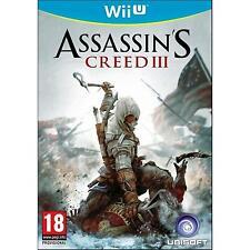 WII U WIIU Assassin's Creed 3 USATO Versione Italiana