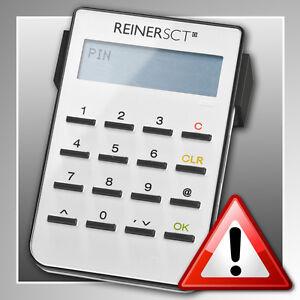 REINER SCT cyberJack® secoder ~ HBCI-Chipkartenleser ~ Sicherheitsklasse 3 ~ TOP