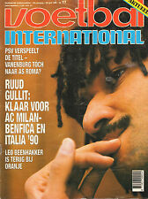 V.I. 1990 nr. 17  - WK PORTRET ARABISCHE EMIRATEN & ARGENTINIE / RUUD GULLIT