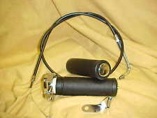Harley FX, FLH ,73-80 Shovelhead  single cable throttle,grips for Bendix carb **