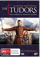 THE TUDORS SEASON 4 (3-DVD) Jonathan Rhys Meyers Henry Cavill King Henry VIII