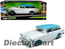 Maisto Design Muscle Collection 1955 Chevrolet Nomad 1 18 Scale