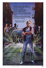 REPO MAN Movie POSTER 27x40 Emilio Estevez Harry Dean Stanton Sy Richardson