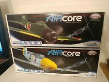 2 Flyzone Aircore German Me-109 and Japanese ZERO Remote Control Airplane NEW