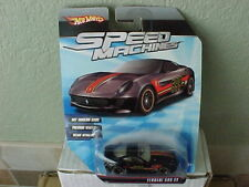 Hot Wheels 2009 Speed Machines Ferrari 599XX Black
