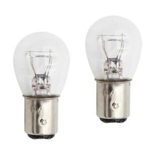 1157 12V 12V 21W 5W BAY15D Headlights Standard Replacement Halogen Globes X2