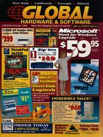 Vintage Global Hardware Software Catalog October 1996