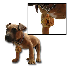 Personalized Engraved Mini Barrel Dog Charm ID Tag Name (Small Dog)