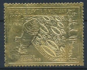 [30961] Mauritania 1968 Space Good Gold stamp Very Fine MNH
