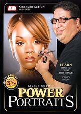 Power Portraits 2-Disc Set How-To Paint DVD with Javier Soto by Airbrush Action