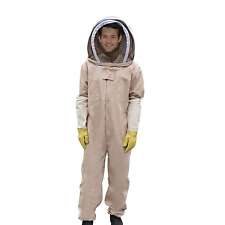 AISENPARTS Beekeeping Suit Veil Hood Hat Clothes Bee Keeping Costume Equipment
