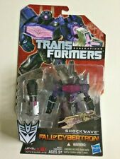 Transformers Generations Fall of Cybertron FOC Deluxe Class Shockwave