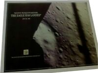 THE EAGLE HAS LANDED, Moon landing, METAL shavings, NASA July 20, 1969 Apollo 11