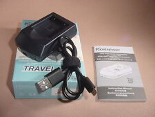 USB Charger for BP-DC17 Battery Leica Sofort Instant Film Camera