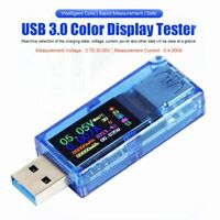 USB 3.0 Tester AT34 Power Meter Power Meter IPS Color Display Voltmeter Ammeter