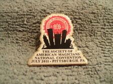 Rare Society Of American Magicians Pin - Hard To Find Pinback, 2011