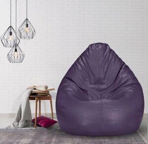 heimdekor Regular Bean Bag Cover without Beans (Purple)