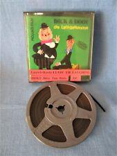 SUPER-8-FILM LAUREL & HARDY PICCOLO 60 m TON DICK + DOOF - DIE LACHGASKANONE OVP