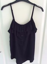 Ladies Vero Moda black top Size small