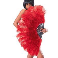 Carnival Toys 8563 - Riesen Federfächer 100 Cm rot