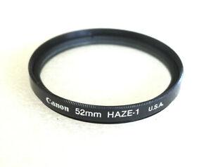 52mm Canon UV HAZE Filter - NEW