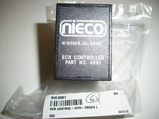 Nieco SCR Controler # 4091     $139.00 New Appliance parts