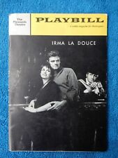 Irma La Douce - Plymouth Theatre Playbill - October 31st, 1960 - Elizabeth Seal