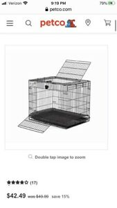 Midwest Homes for Pets Wabbitat Rabbit Cage in Black - 157