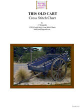 THIS OLD CART - cross stitch chart