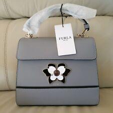 FURLA Top Handle Grey Bag Small with tags **BRAND NEW**