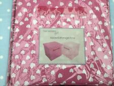 Matalan Pink Storage Box with lid Toys/Books/Clothes Shelving Organise